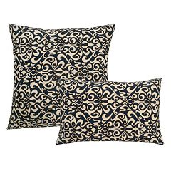 Edie, Inc.  Vert Outdoor Throw Pillow