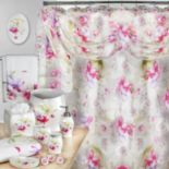 Popular Bath Flower Haven Bathroom Accessories Collection