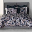 Simply Vera Vera Wang Midnight Floral 3-pc. Comforter Set