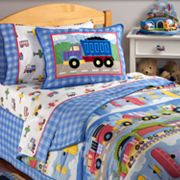 Olive Kids Trains, Planes and Trucks Comforter and Accessories