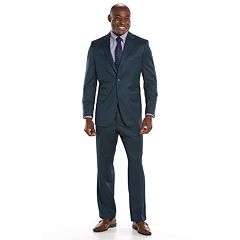 Steve Harvey Classic-Fit Blue Suit Separates - Men