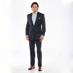 Big & Tall Chaps Classic-Fit Navy Wool-Blend Comfort Stretch Suit Separates
