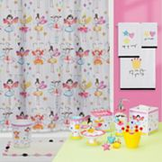 Creative Bath Faerie Princesses Shower Curtain Collection