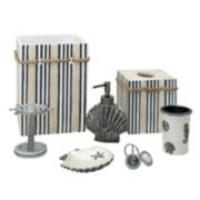 India Ink Beach Cottage Bathroom Accessories Collection