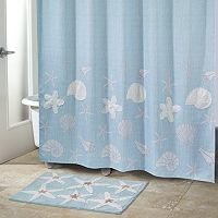 Sequin Shells Shower Curtain Collection