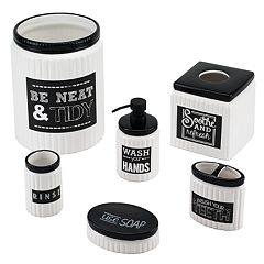 Chalk It Up Bathroom Accessories Collection