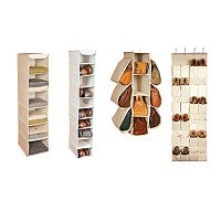 Richards Homewares Loft Natural Closet Storage Collection
