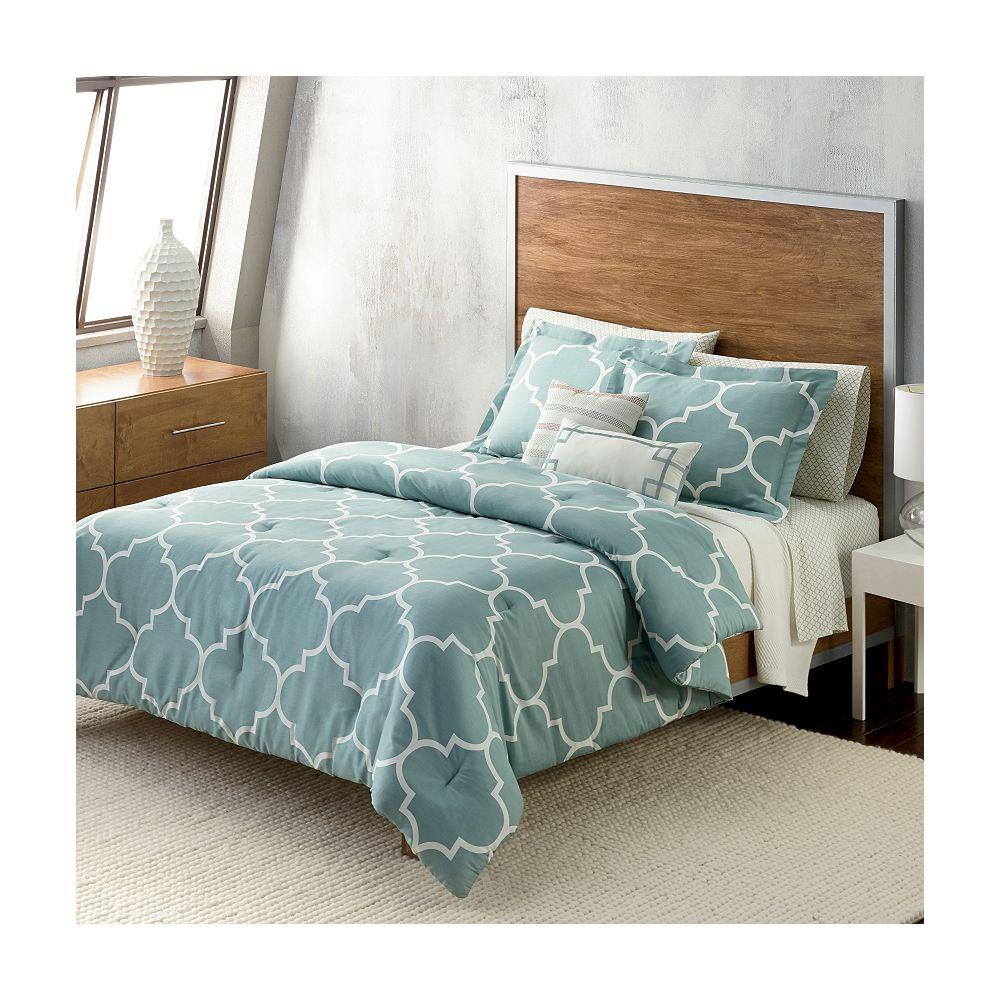 Apt 9 Trellis Comforter Collection, Kohls Queen Bedding Set