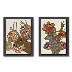 Americanflat ''Dear Deer'' Framed Wall Art