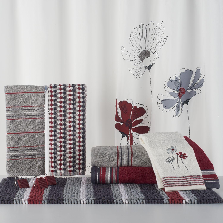 Saturday Knight, Ltd. Evan Shower Curtain Collection