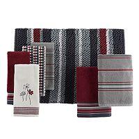 Saturday Knight, Ltd. Evan Stripe Bath Towel Collection