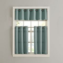 Donahue Tier Kitchen Window Curtains