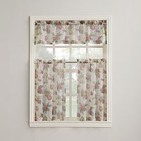 Summer Orchard Tier Kitchen Curtains