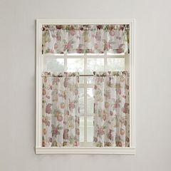 Summer Orchard Tier Kitchen Window Curtains