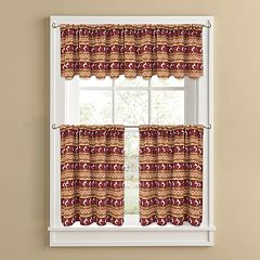 Colordrift Southwest Serenade Tier Kitchen Window Curtains