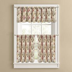 Colordrift Dream Catcher Tier Kitchen Window Curtains