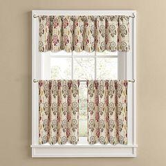 Colordrift Dream Catcher Tier Kitchen Window Curtains