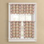 Colordrift Ranchero Tier Kitchen Window Curtains