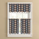Colordrift El Paso Tier Kitchen Window Curtains