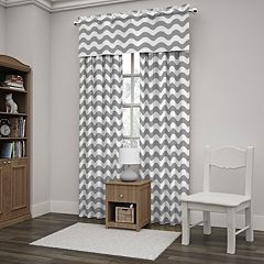 Eclipse Wavy Chevron Window Treatments