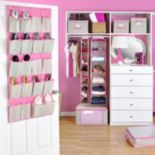 ClosetCandie Hot Pink Bedroom Organization Collection