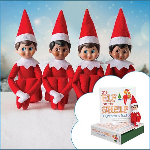 the elf on the shelf a christmas tradition book scout elf collection - Elf On The Shelf Christmas Tradition