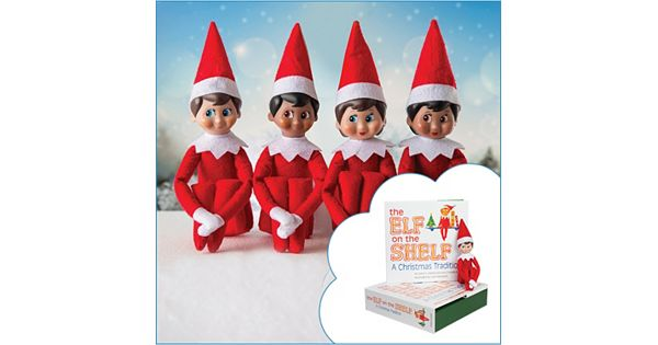 The Elf On The Shelf 174 A Christmas Tradition Book Amp Scout