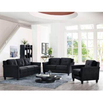 Lifestyle Solutions Hartford Curved Arm Furniture Collection