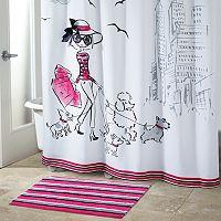 Avanti Chloe Shopping Shower Curtain Collection