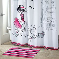 Avanti Chloe Shopping Shower Curtain Collection