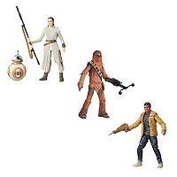 Star Wars: Episode VII The Force Awakens Black Series Figures Collection