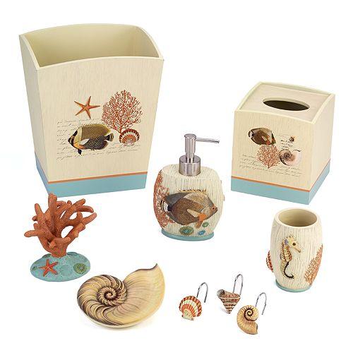 avanti seaside vintage bathroom accessories collection - Bathroom Accessories Vintage