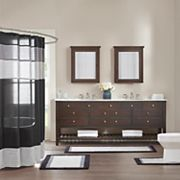 Madison Park Striped Shower Collection