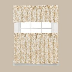Saturday Knight, Ltd. Melissa Tier Kitchen Window Curtains