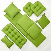 Edie Inc. Sonic Leaf Indoor Outdoor Quilted Cushions & Pillows