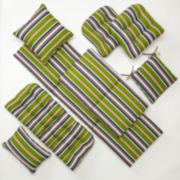 Edie Inc. Classic Stripe Indoor Outdoor Cushions & Pillows