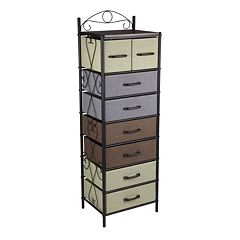 Household Essentials 8-Drawer Storage Unit Collection