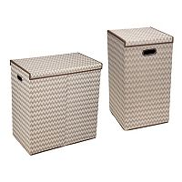 Household Essentials Folding Hamper Collection