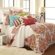 Levtex Tivoli Bone Quilt Collection