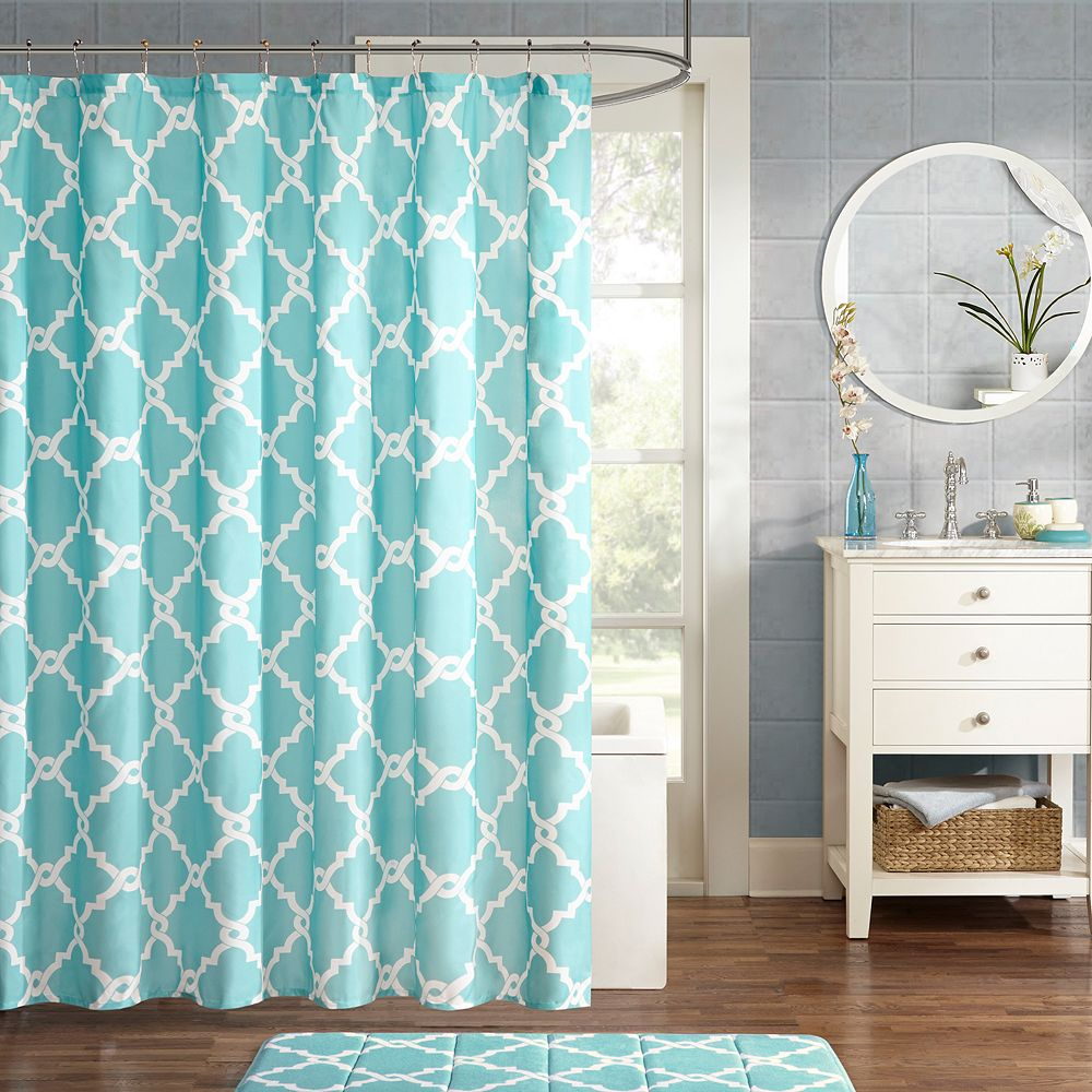 coral pressed curtain flowers outstanding bright images curtains bath and shower blue teal sheer yellow interdesign