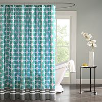 Intelligent Design Geometric Shower Curtain Collection