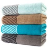 Apt. 9® Highly Absorbent Chevron Bath Towels