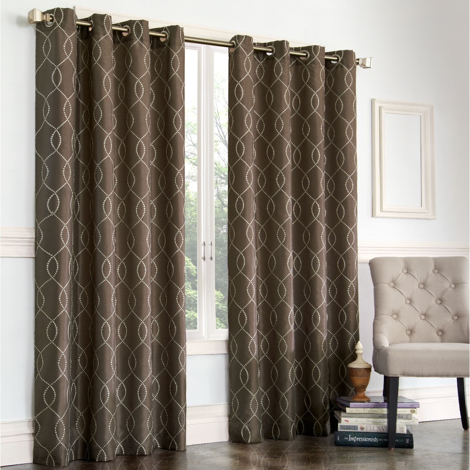Regent Court Gramercy Faux Silk Window Treatments