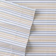The Big One Classic Striped Percale Sheet Set