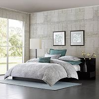 Metropolitan Home Marble Duvet Cover Collection