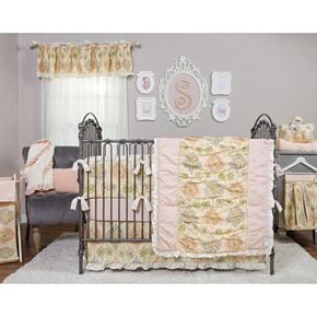 Waverly Baby Rosewater Glam Nursery Coordinates by Trend Lab