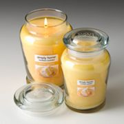 Yankee Candle simply home Vanilla Frosting Jar Candles