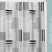 Creative Bath Modern Angles Shower Curtain Collection