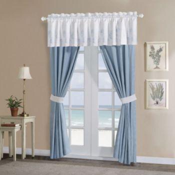 Harbor House Crystal Beach Window Treatments