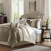 Madison Park Eastridge Comforter & Window Curtain Collection